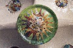 Techo del mosaico Fotos de archivo libres de regalías