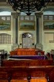 Techo dentro de la sinagoga fotos de archivo libres de regalías