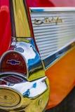Techo duro 1957 de Chevrolet BelAir Foto de archivo