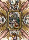 Techo en el museo de Vatican Foto de archivo libre de regalías