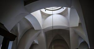 Techo en la iglesia Foto de archivo libre de regalías