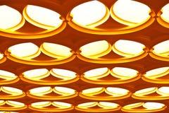 Techo geométrico abstracto Fotos de archivo libres de regalías