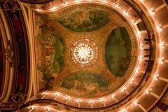 Techo Manaus el Brasil del teatro del Amazonas Fotos de archivo