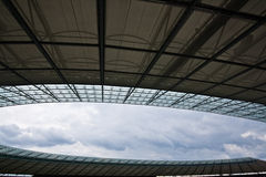 Techo olímpico del estadio de Berlín Fotos de archivo
