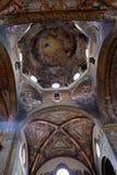 Techo pintado de la catedral de Parma Imagenes de archivo