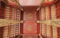 Techo tailandés del templo Imagen de archivo