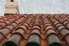 Techo tejado Fotografía de archivo libre de regalías
