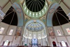 Techo Vitoria el Brasil de la basílica de San Antonio Fotos de archivo libres de regalías
