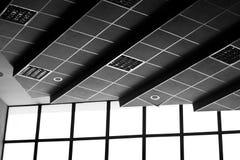 Techo y ventanas Fotografía de archivo
