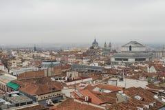 Techos de Madrid Fotos de archivo libres de regalías