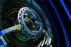 techwoofer för hög ström Royaltyfri Foto