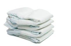 tecidos isolados Imagem de Stock