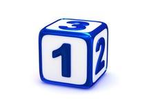 1 2 3 tecken Fotografering för Bildbyråer
