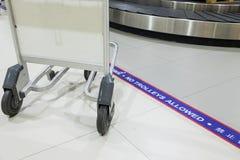 Tecken av ` ingen spårvagn utöver denna linje `, Arkivfoto