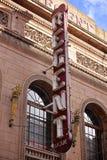 Tecken av Regent Arcade i den Rundle gallerian Royaltyfria Bilder