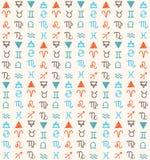 Tecken av zodiac Arkivfoton