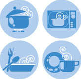 tecken för 01 mat Fotografering för Bildbyråer