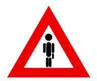 tecken för affärsman Royaltyfri Bild