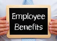 Tecken för anställdfördelar