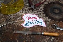 Tecken för arbets- dag Royaltyfri Bild