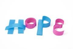 tecken för bokstavspapper Arkivfoto