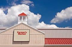tecken för bondemarknad s Royaltyfri Fotografi
