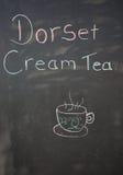Tecken för Dorset krämte Arkivfoton