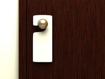 tecken för handtag för blank dörr stock illustrationer