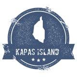 Tecken för Kapas ölogo royaltyfri illustrationer