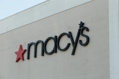 Tecken för Macys lagerlogo Royaltyfri Fotografi