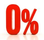 Tecken för procentrabatt 3d Royaltyfri Foto