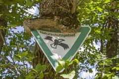 Tecken för Protect naturen arkivbilder