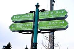 Tecken för turism Royaltyfria Bilder