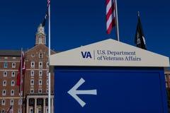 Tecken för VA-vårdcentralingång Royaltyfri Bild
