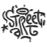 Tecken Logo Lettering för t-skjorta eller klistermärke för gataArt Related Tag Graffiti Influenced etikett på en vit backgroun vektor illustrationer