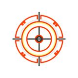 Tecken och symbol för vektor för symbol för pilbräde som isoleras på vit bakgrund, begrepp för logo för pilbräde vektor illustrationer