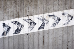 Tecken och symbol som indikerar en klättring Arkivbild