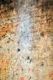 Tecken på en kolonn av kyrkan av Nativity Arkivfoto