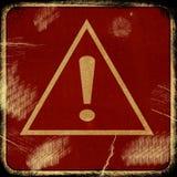 Tecken på grungebakgrund Royaltyfri Foto