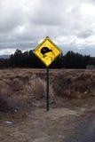 Tecken på Tongariro Nt. Parkera Arkivfoto