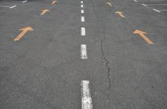 Tecken på vägen Arkivfoton