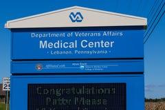 Tecken på VA-vårdcentralen Royaltyfri Fotografi