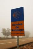 Tecken som meddelar vägen av St James Royaltyfria Foton