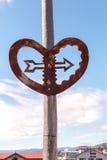 Tecken som söker efter förälskelse, gummistövel, NZ Arkivfoton