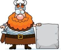 tecken viking royaltyfri illustrationer