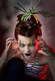 teckenfärg Royaltyfri Fotografi