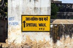 Teckennegro spiritual går på väggen royaltyfri bild