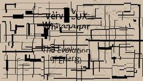 Teckenskönhet i abstrakt begrepp vektor illustrationer
