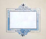 teckentappningvägg Stock Illustrationer