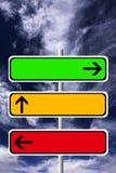 teckentrafik Arkivbild